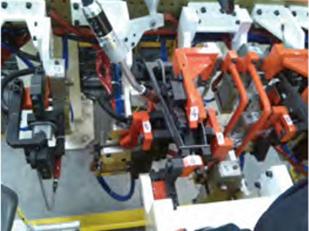 座椅机器人夹具成功案例