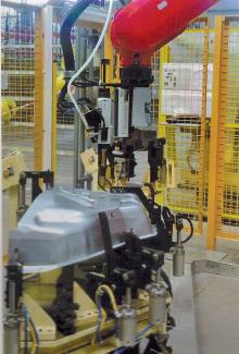 机器人螺柱焊接