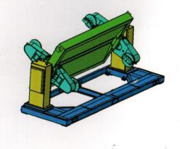 垂直型旋转变位机