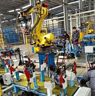 机器人仿真点焊模拟
